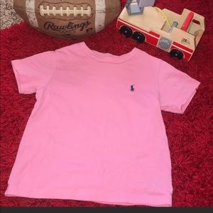 Kids size 3T Pink Polo Tee shirt